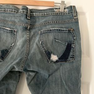 Distressed JAMES jeans